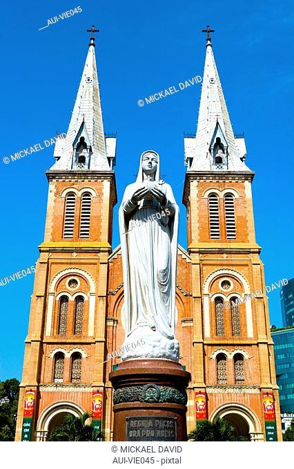 Vietnam - Ho Chi Minh-City Sa'gon - Notre-Dame Cathdral