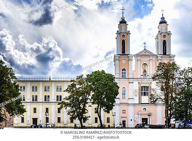 Church of St. Francis Xavier. Kaunas, Kaunas County, Lithuania, Baltic states, Europe