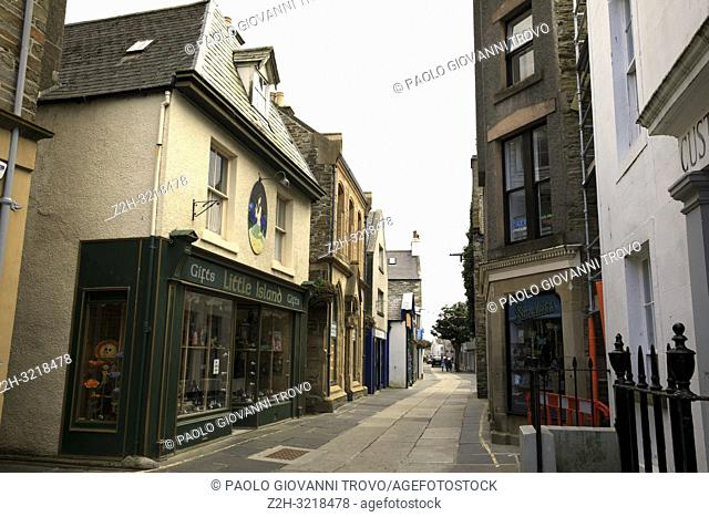 Kirkwall village, Scotland, Highlands, United Kingdom