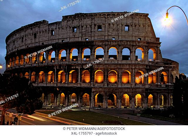 Italy, Rome, Colosseum, Colosseo