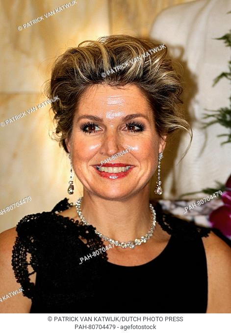 Brussel, 25-05-2016 HM Queen Máxima HM Queen Máxima attends at the invitation of HM Queen Mathilde one of the final nights of the Queen Elisabeth Piano...