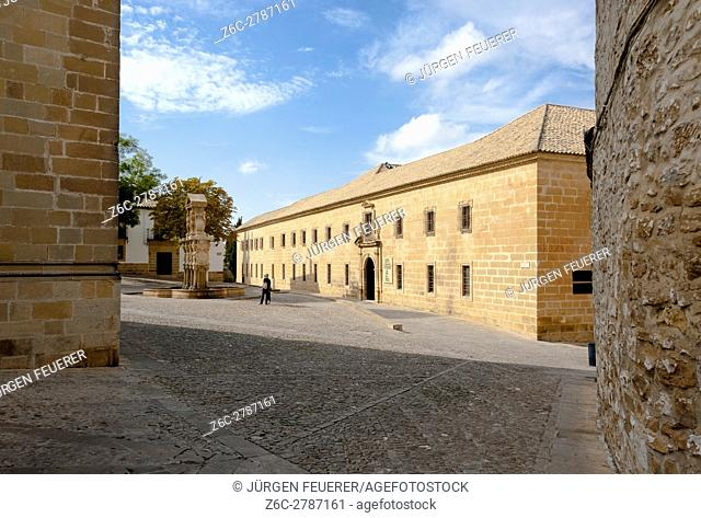 old university of the Renaissance in Baeza, province Jaen, Andalusia, Spain