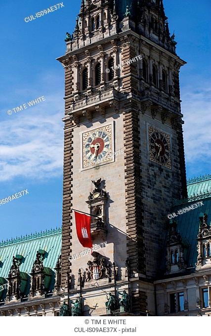 The Rathaus, Hamburg, Germany