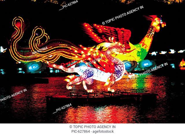Lantern Festival,Gyeongnam,Korea