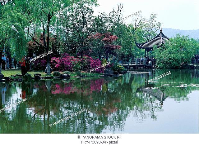 Three Pools Mirroring the Moon, WestLake, Hangzhou