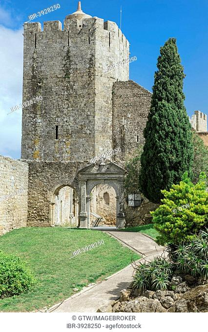 Tower of Castelo de Palmela castle, Distrikt Setúbal, Portugal