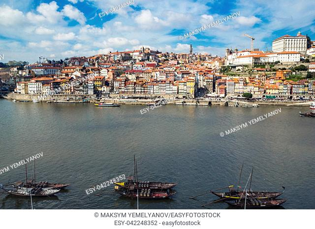 Ribeira, Old town of Porto and the Douro River, Portugal