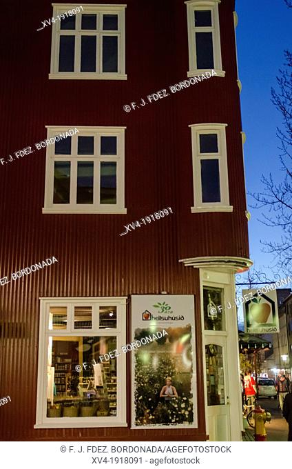 Reykjavik housing architecture, Iceland