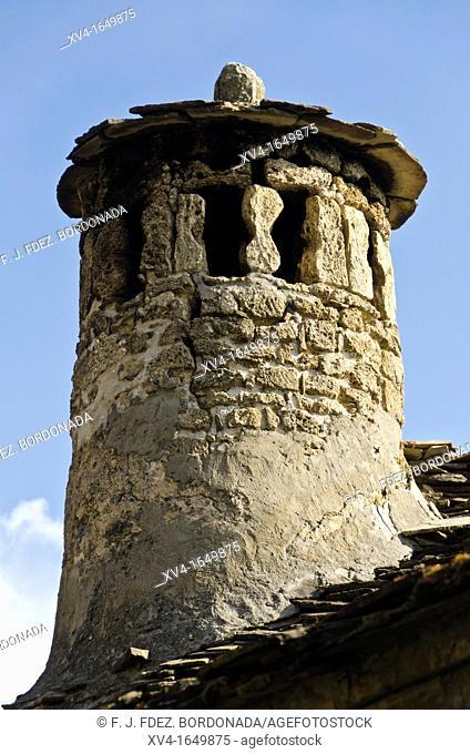 Puertolas village  Sobrarbe  Huesca  Spain