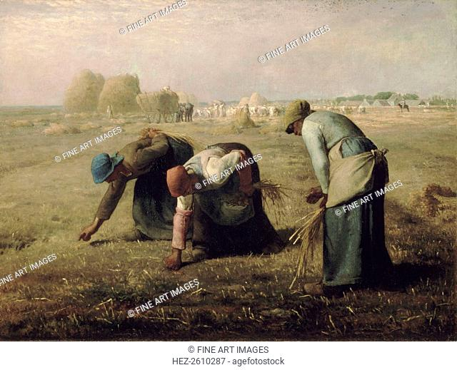 The Gleaners, 1857. Artist: Millet, Jean-François (1814-1875)