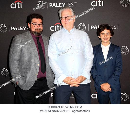 Celebrities attend PaleyFest Fall 'Me, Myself & I' Arrivals at The Paley Center For Media in Beverly Hills Featuring: Bobby Moynihan, John Larroquette