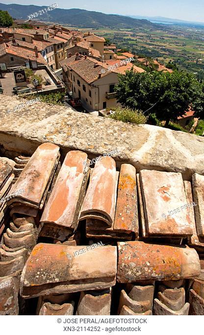 Cortona, Province Arezzo, Tuscany, Italy, Europe