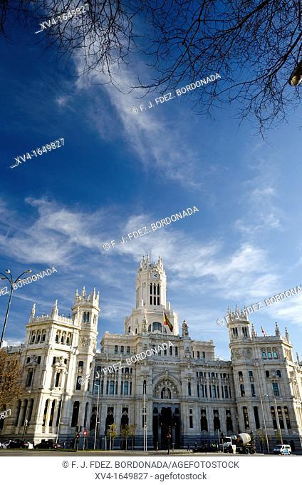 Madrid city councill Spain