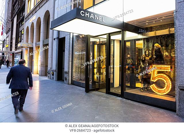 The french fashion design house has been a stalwart staple of tourist and locals in New York City at 15 E 57th St