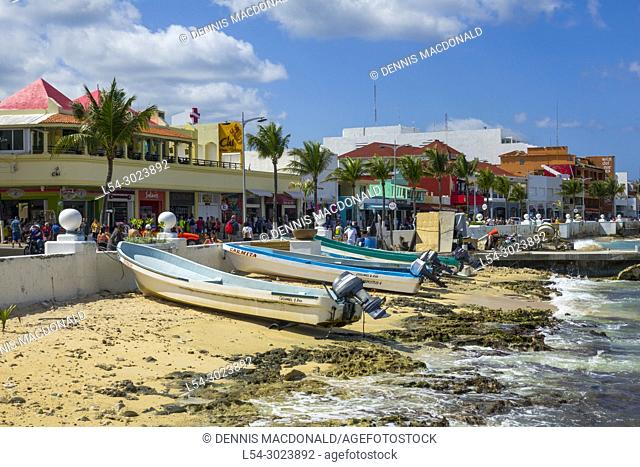 Cozumel Mexico is a popular cruise destination in the western caribbean