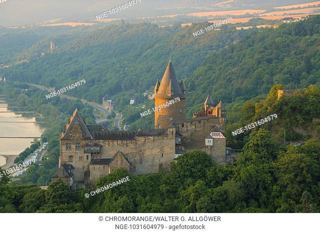Jugendherberge Burg Stahleck, Jugendburg Stahleck, Bacharach am Rhein, UNESCO Welterbe Kulturlandschaft Oberes Mittelrheintal, Weltkulturerbe, Rheinland-Pfalz