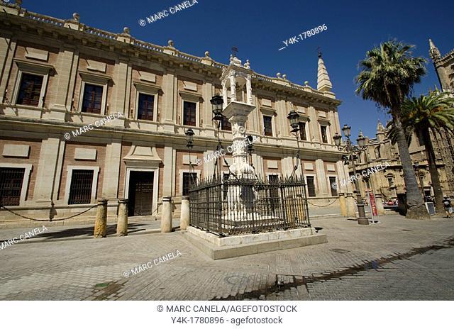 Europe, Spain, Sevilla, Street details, urban Style, Plaza triunfo