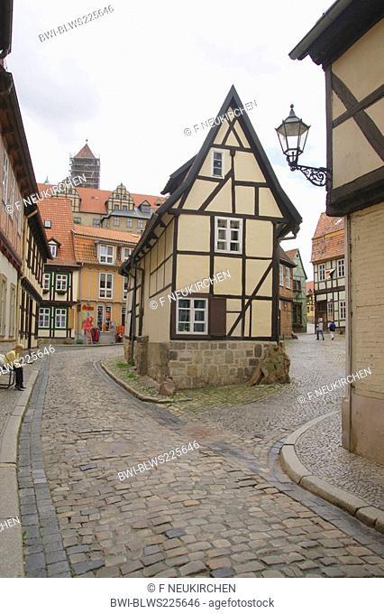 restaurant 'Finkenherd', Germany, Saxony-Anhalt, Harz, Quedlinburg