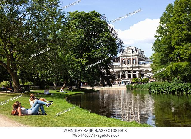 Vondelpark in Museum Quarter, Amsterdam, Netherlands