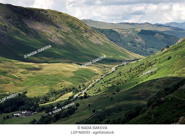England, Cumbria, Alcock Tarn, View from Alcock Tarn