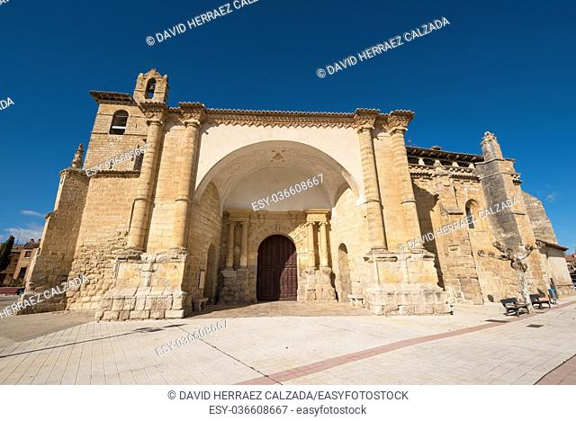 St Peter church in Fromista, Palencia, Castilla y León, Spain