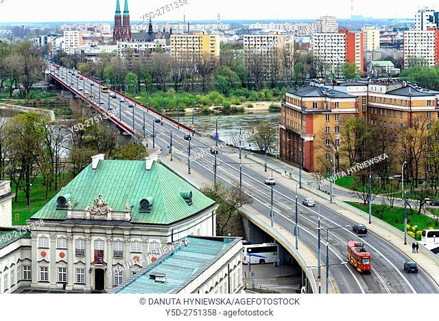 left down corner - Palac pod Blacha, Copper Roof Palace, Old Town, UNESCO World Heritage, Aleja Solidarnosci - Solidarnosci Avenue , Most Slasko-Dabrowski