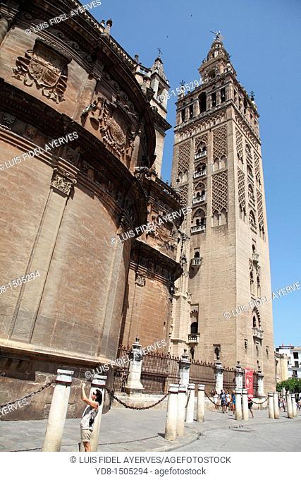 Giralda Tower, Sevilla, Spain, Europe