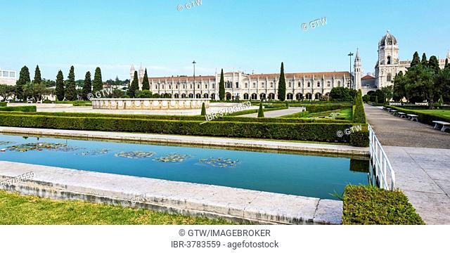 Mosteiro dos Jéronimos monastery, Unesco World Heritage Site, Belem district, Lisbon, Portugal