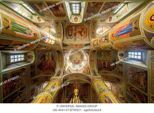 Russia, Kolomna. Interior of the Uspensky cathedral