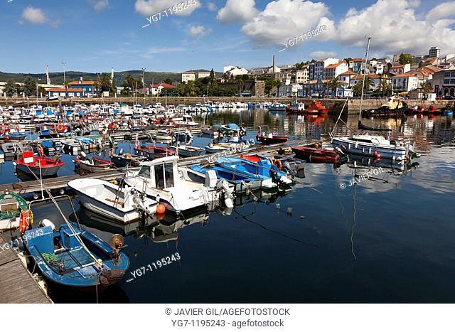 Port of Ferrol, La Coruña, Galicia, Spain