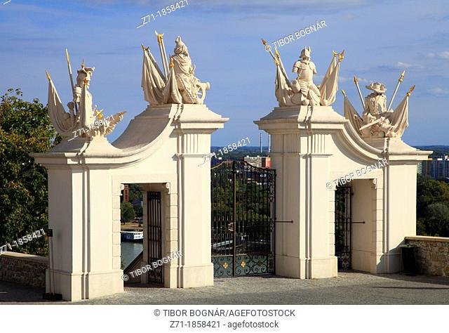 Slovakia, Bratislava, Castle, gate