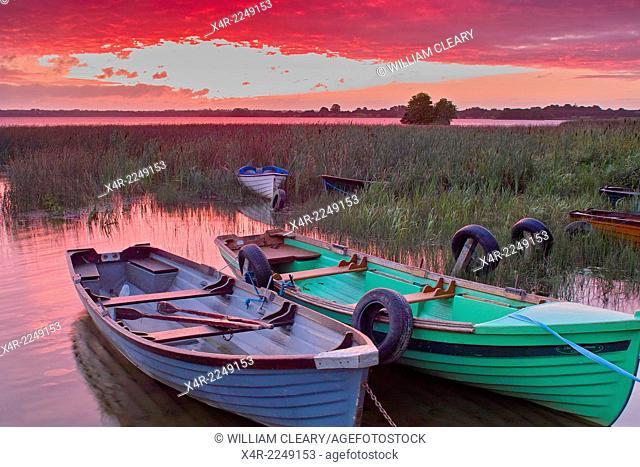 Sunrise over Lilliput, Lough Ennell, County Westmeath, Ireland