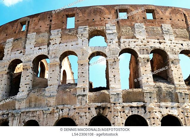 Colosseum Rome Italy IT EU Europe