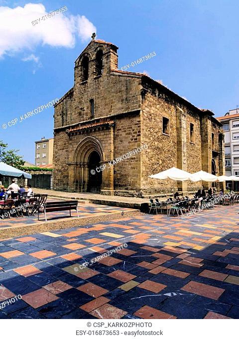 Plaza del Carbayo, Aviles, Spain