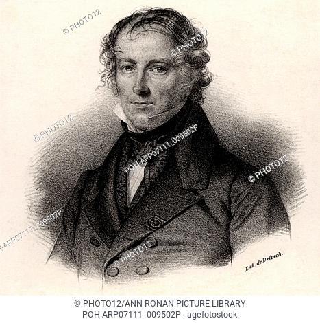 Jean Baptiste Biot (1774-1862) French physicist and astronomer. In 1804, with Gay-Lussac, Biot made the first balloon ascent specifically for scientific...