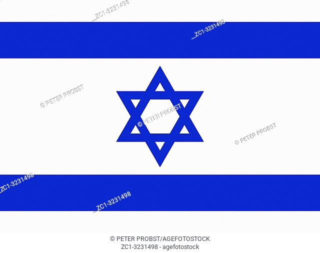 National flag of the State of Israel
