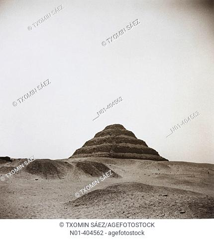 Step pyramid of Saqqara, Egypt