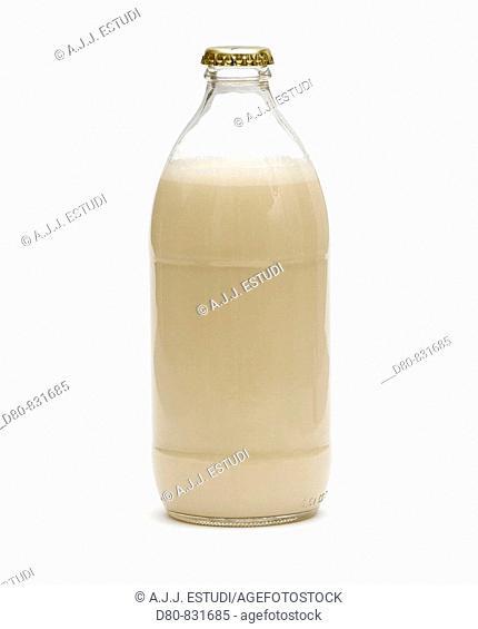 bottle of medical milkshake