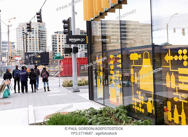 Seattle, Washington: Amazon Go is open to employees at Amazon's Urban Campus. Currently in its Beta program, the high tech convenience store will open to the...