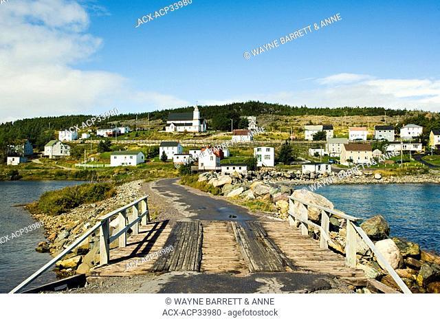 Road to King's Cove, Newfoundland and Labrador, Canada