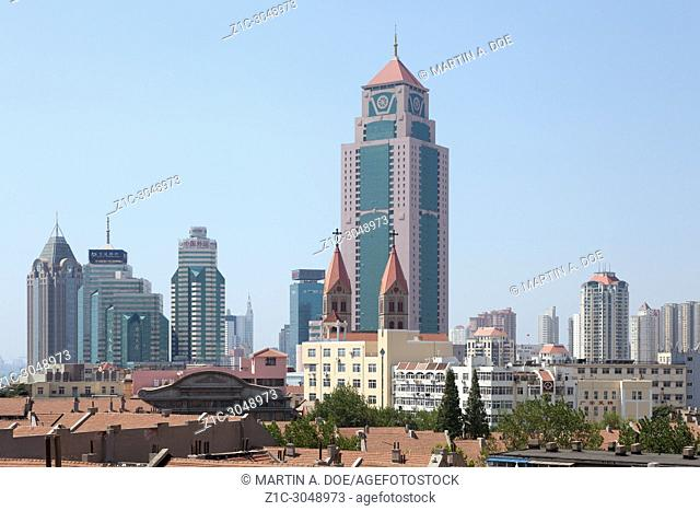 An overview of Qingdao, Shandong, China
