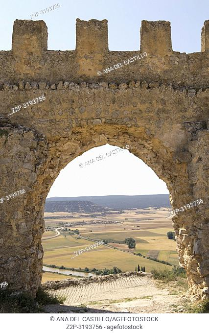 Gormaz castle in Soria province Castile Leon Spain
