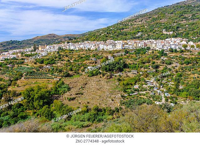 village Pitres, Sierra Nevada, Andalusia, Spain