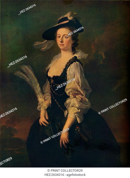 'Portrait of Jane Hale, Mrs Madan', 1746. Artist: Allan Ramsay
