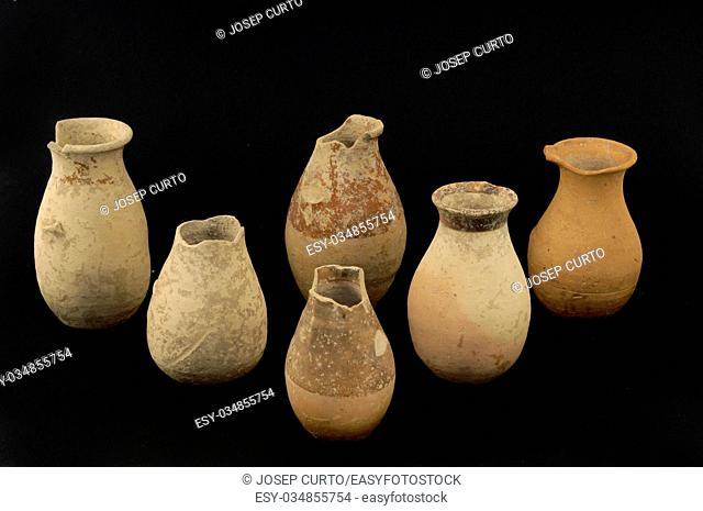 old roman vase