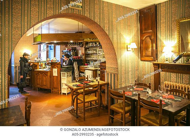 Les Templiers Hotel. Luz-Saint Sauveur. Argeles- Gazost district. Luz-Saint Sauveur Canton. Hautes-Pyrenees Department. Midi-Pyrenees Region. France
