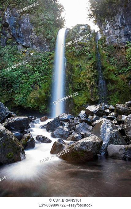 Waterfall on Mount Egmont