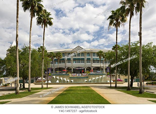 Hammond Stadium in the Lee County Sports Complex spring training home of major league baseball Minnesota Twins in Fort Myers Florida