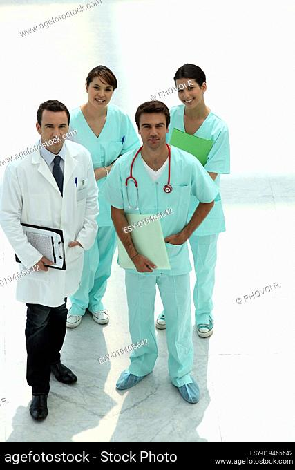 Hospital personnel