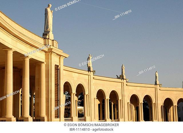 Partial view, Basilica Antiga, Fatima, place of pilgrimage, Central Portugal, Portugal, Europe
